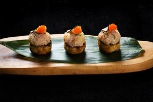 Hamachi Truffle Grilled Rice