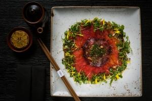 Tuna & Foie Gras Carpaccio