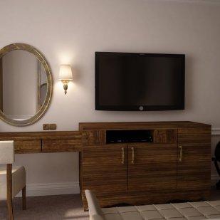 Hotel Bedroom 1