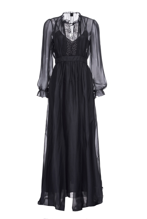 LONG DRESS IN CHIFFON_AED 2699