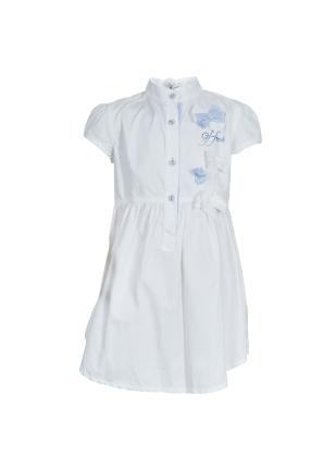 GF Ferre_ White Swarovski Logo Dress_ 6 Yrs_ AED 970 (1)
