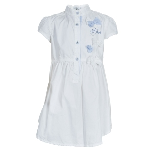 GF Ferre_ White Swarovski Logo Dress_ 6 Yrs_ AED 970 (1)
