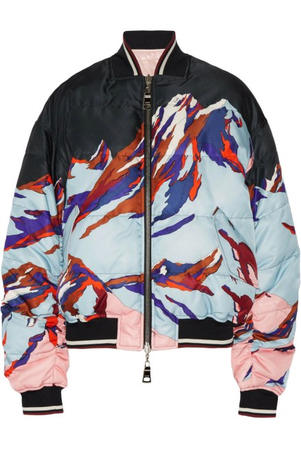Emilio Pucci Reversible Printed Bomber Jacket