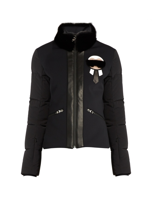 Fendi 'Karlito' Fur-trim performance jacket