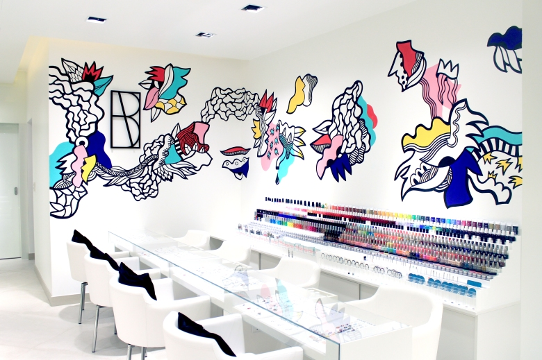 The Nail Spa_MOE_Interior_Artist Gambette 1