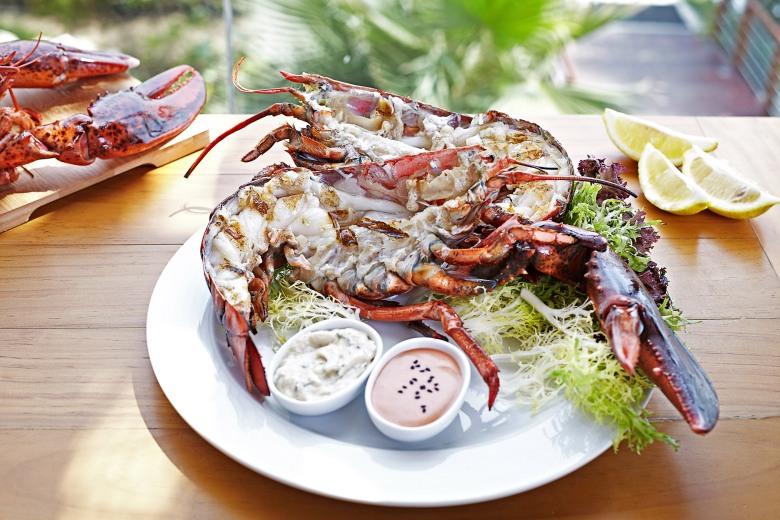 Flooka Grilled Lobster
