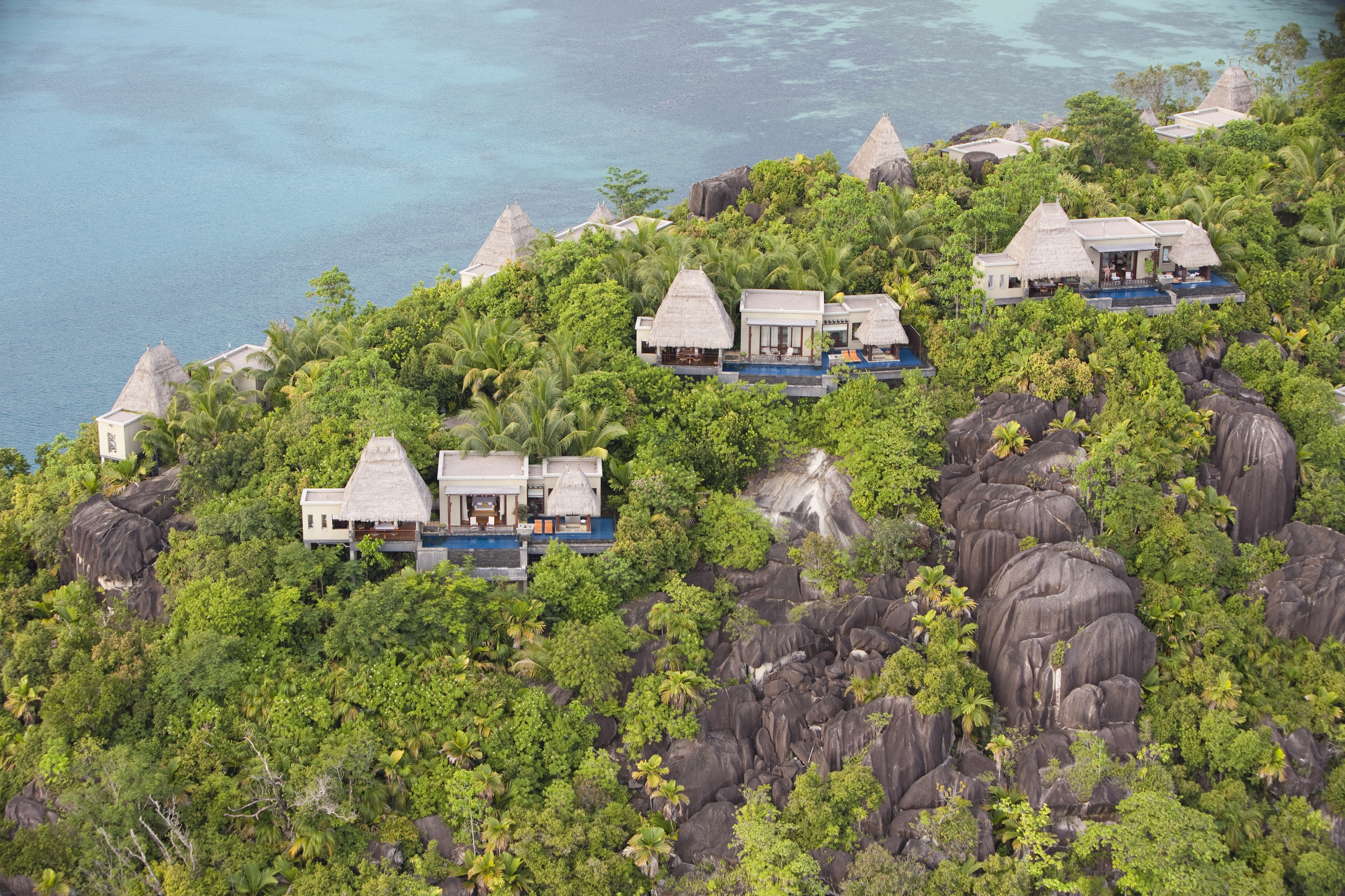 Maia Luxury Resort & Spa – AerialPeninsula