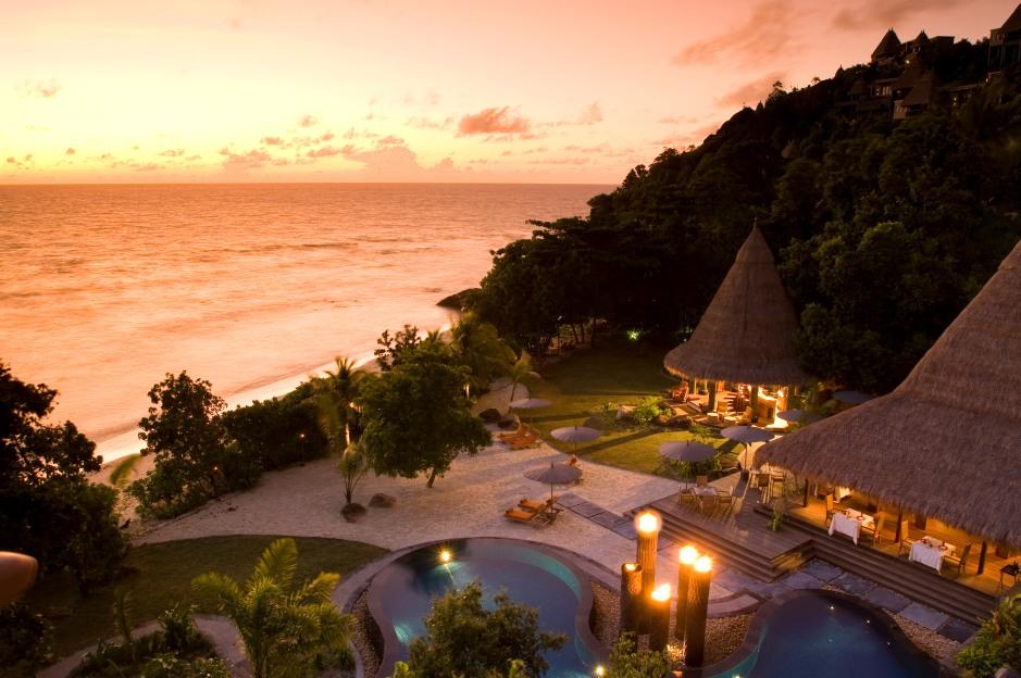 Maia Luxury Resort & Spa - Aerial Pool & Restaurant-dup3-