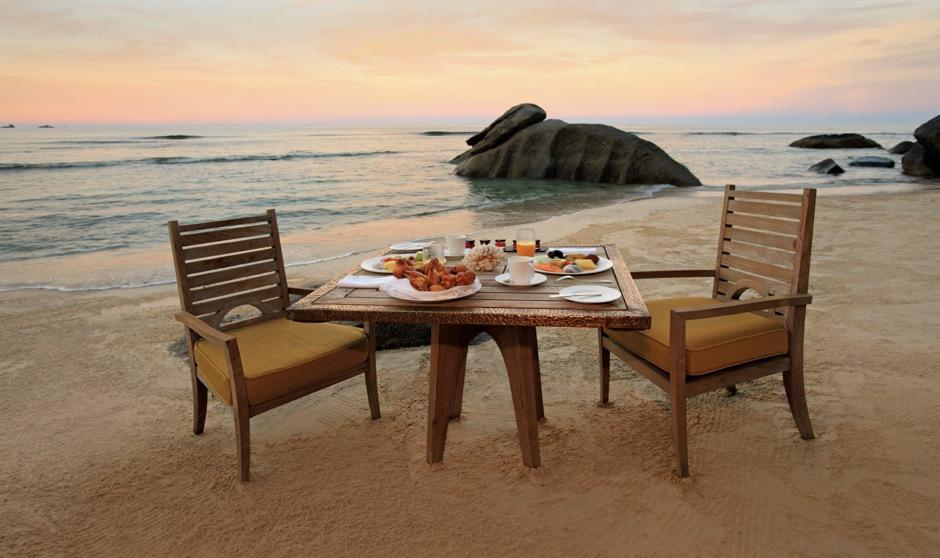Maia Luxury Resort & Spa - Breakfast On Beach-dup1-