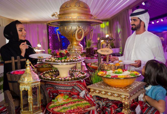 1. Al Marjan Ramadan Tent by RAKTDA