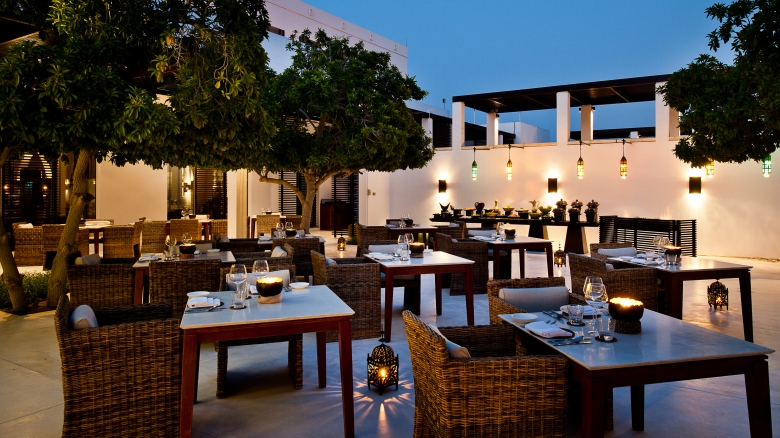 CMU-Dining-The Arabian Courtyard-Main Area
