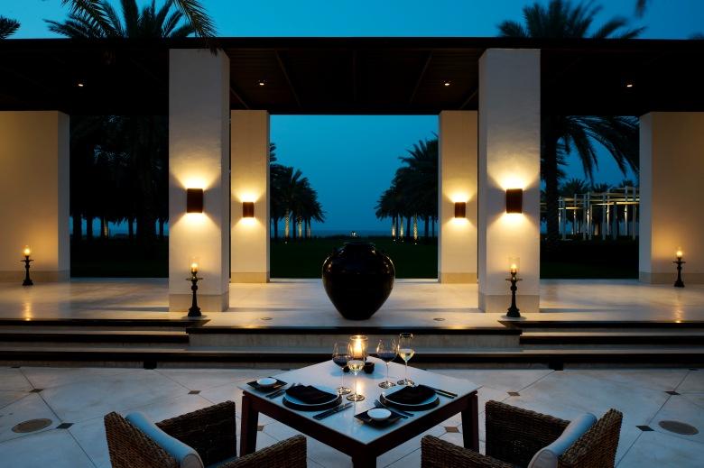 CMU-Dining-The Restaurant-Courtyard-Evening02