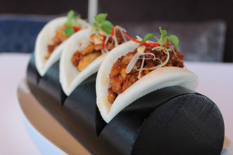 Home Smoked F1 Short Rib Tacos at At.mopshere Lounge, Burj Khalifa