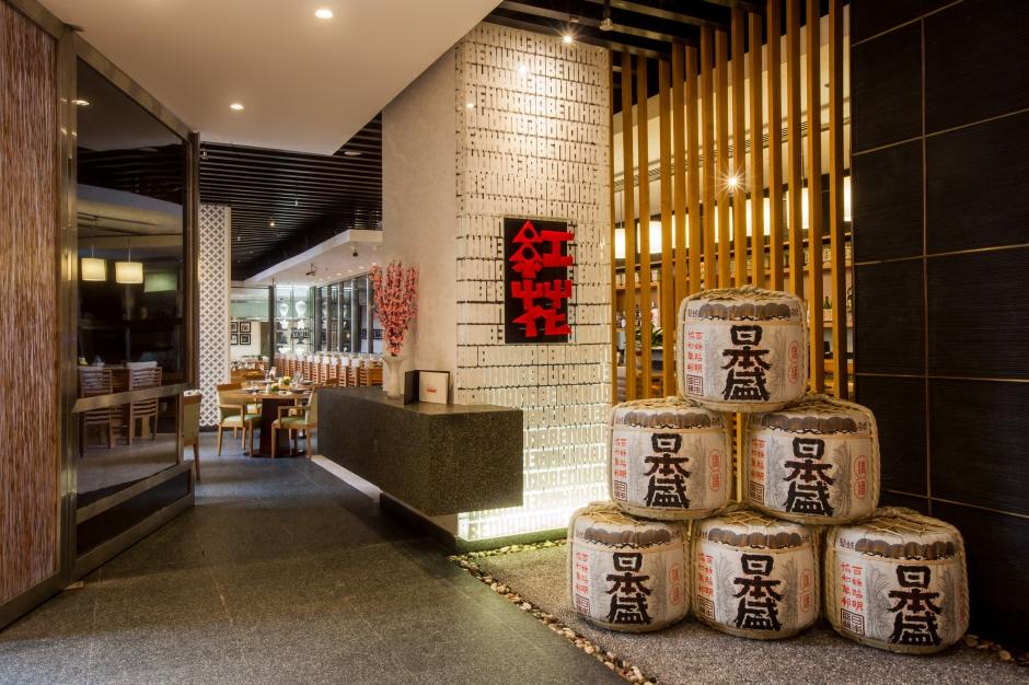 Amwaj Rotana - Benihana Restaurant Entrance