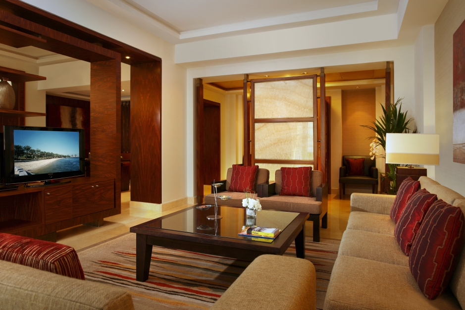 Amwaj Rotana - Presidential Suite Living Room