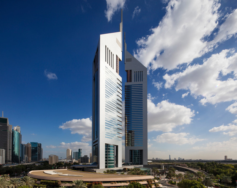 Jumeirah Emirates Towers - Clouds - Exterior
