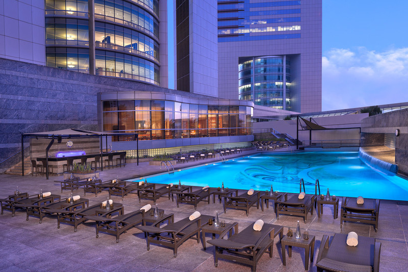 Jumeirah Emirates Towers -Swimming Pool - Overview