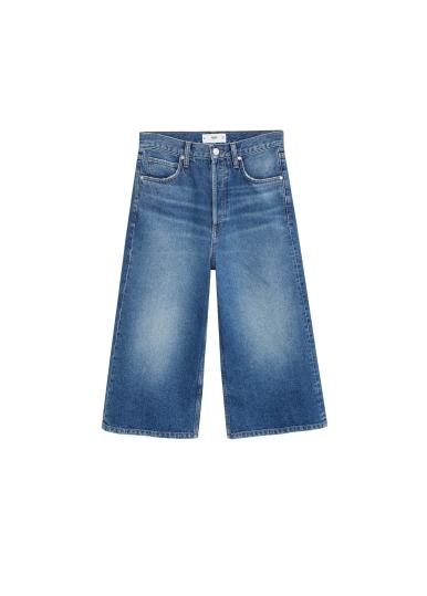 MANGO, Denim Bermuda Shorts AED199