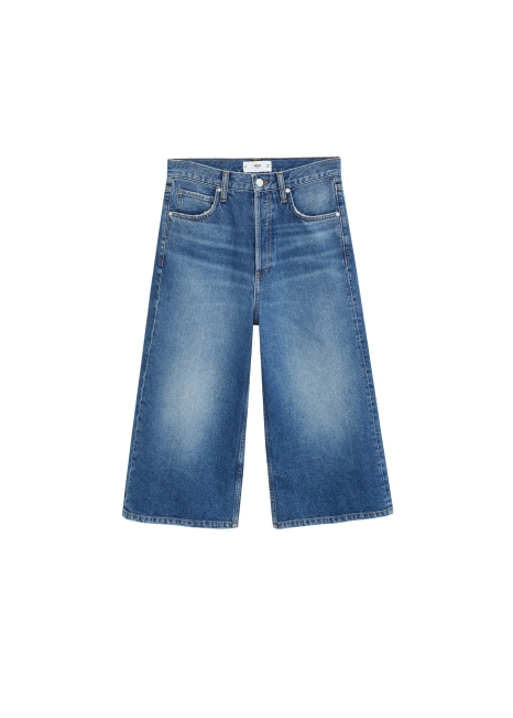 MANGO, Denim Bermuda Shorts AED199