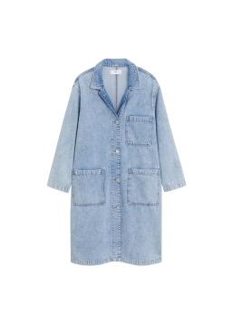 MANGO, Medium Wash Denim Jacket AED349