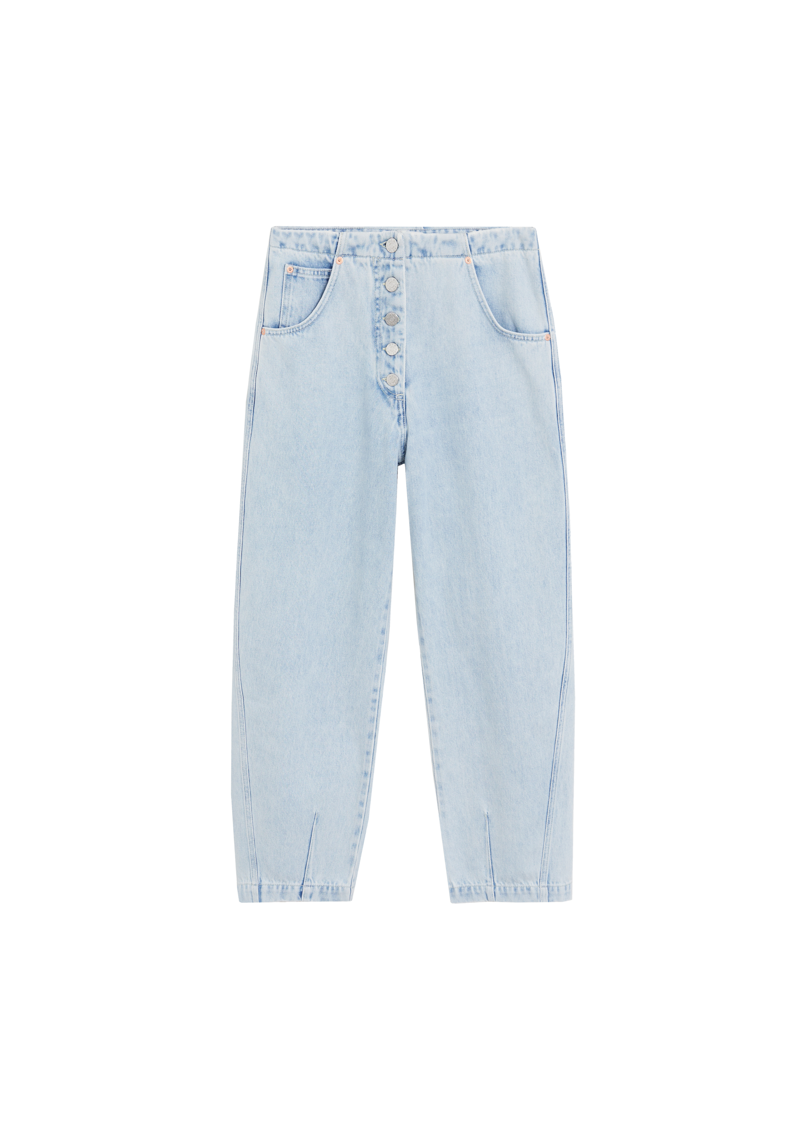 MANGO, Straight Fit Light Wash Jeans AED269